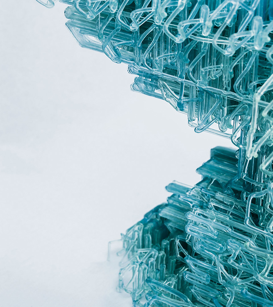Voxel Chair v1 0, a prototype of 'spatial 3D printing' | Nagami